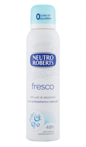 Deodorant Spray Neutro Roberts Fresco 150 ml