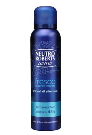 Deodorant Neutro Roberts Men fresco essenza marina spray 150ml