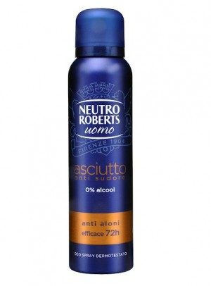 Deodorant Neutro Roberts Men Asciutto Anti-sudore spray 150ml