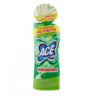 Detergent Ace WC gel Dezincrostant multi jet 700 ml
