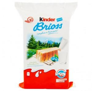 Prajituri Kinder Brioss lapte 10buc, 270g