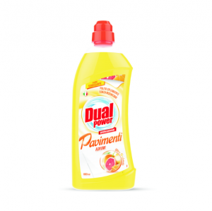 Detergent Pardoseli Dual Power Citrice 1000ml