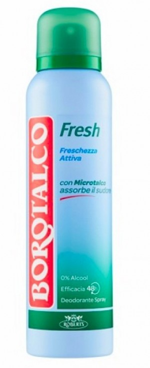 Borotalco deo 150ml spray active fresh