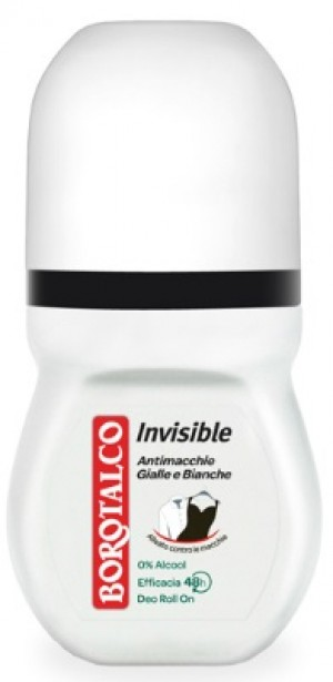 Borotalco Deodorante Roll-On 50 ml Invisible