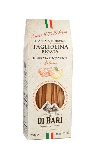 Paste italiene Tagliolina al Salmone Di Bari 250g